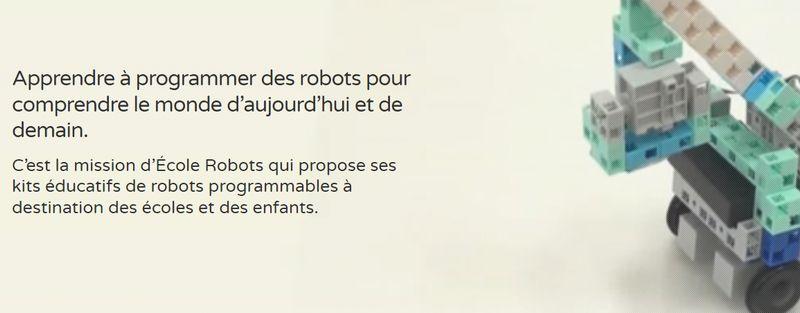 école robots